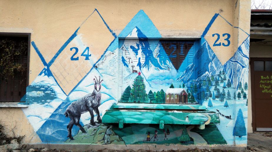 18/12 – Fresque del'avent
